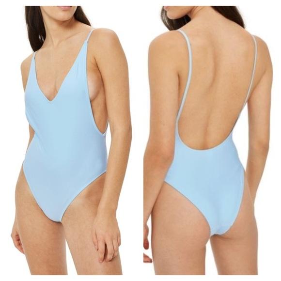 98c66ff974963 Topshop Swim | Pamela Onepiece Suit Extreme Plunge | Poshmark